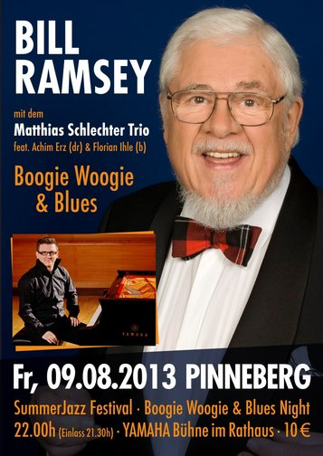 BILL RAMSEY & Matthias Schlechter Trio