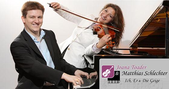 Matthias Schlechter & Joana Toader - Ich, Er und die Geige, Livemusik für Hochzeit